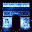 [Arc de Triomphe with red and blue channels swapped and iCCP chunk]