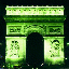 [Arc de Triomphe with red and green channels swapped and iCCP chunk]