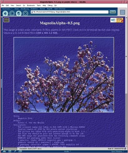 [png-MagnoliaAlpha.html half-scale screen shot (64k)]