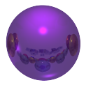 [shiny purple ball from 1600x1200 white logo image]