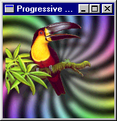 [RGBA toucan viewed with rpng2 -bgpat 14]